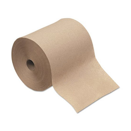 Image of a brown roll of paper towels