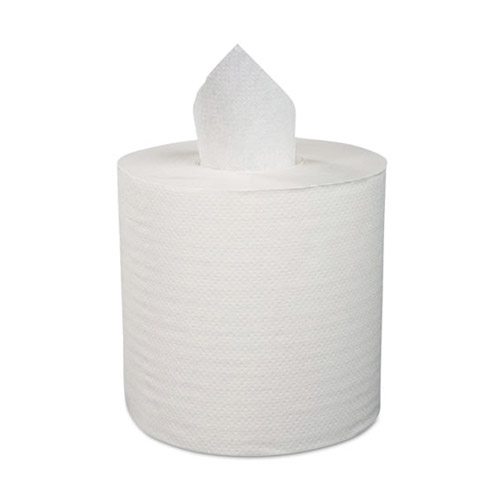 Image of center-pull paper towels, sold by Gloves Plus Inc.