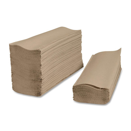 Image of brown multi-fold paper towels