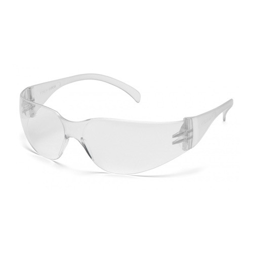 Pyramex Intruder clear anti-fog lens clear temples safety glasses