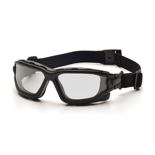 Photo of Pryamex I-Force slim clear anti-fog lens goggles sold by Gloves Plus Inc.