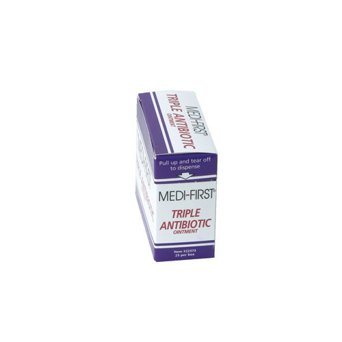 Image of Medi-First triple antibiotic ointment sold by GPI