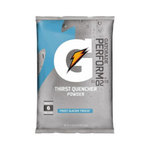 Image of a Gatorade Performance Thirst Quencher pouch of powder