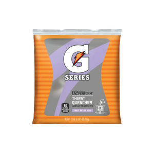 Image of a Gatorade G Series pouch of powder