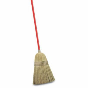 Image of a janitorial broom